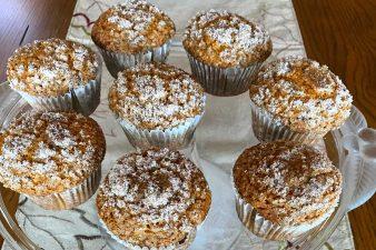Cinnamon Sugar Bourbon Pumpkin Muffins