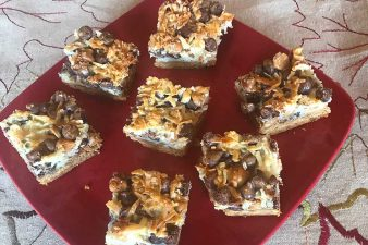 Twist on Seven Layer Bars